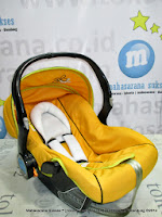 Infant Car Seat GioBaby CS28 Capella Yellow