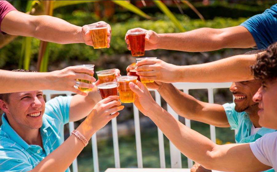 Brinde ao festival de cerveja do SeaWorld