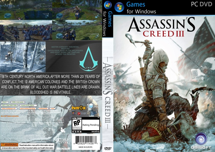 Assassins creed 3 free download full version for pc.