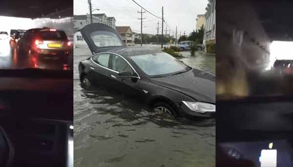 New Tesla Model S can be a boat