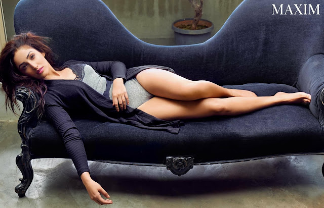 Yami Gautam looks sultry on the cover of Maxim India, January 2017
