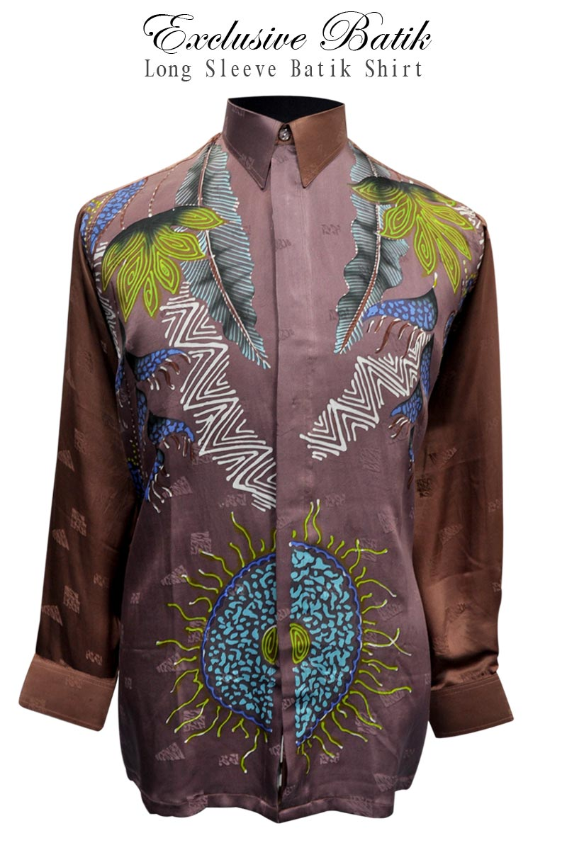 Kebaya House BATIK SHIRT FOR MEN