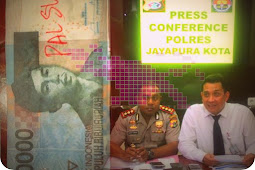 Polisi dan BI Imbau Warga Kota Jayapura Tidak Cemasi Uang Palsu di Waena