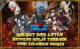 Shinobi Heroes Apk v2.41.060 Mega Mod Update