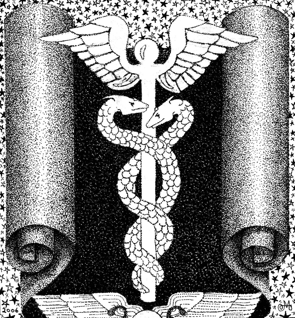 The language of once upon a time caduceus vs asclepius caduceus vs asclepius buycottarizona