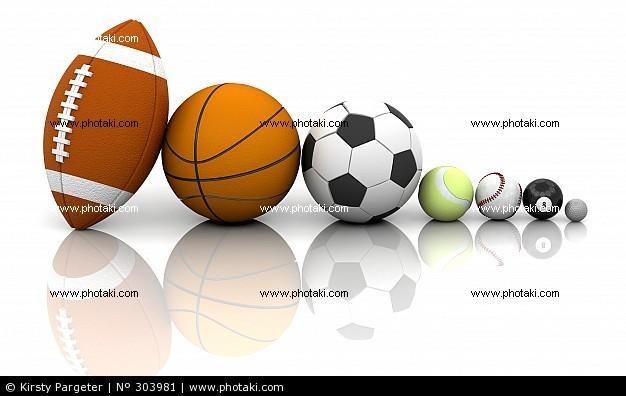 72b0118545980 Bolas esportivas de quase todos os tipos de esportes.