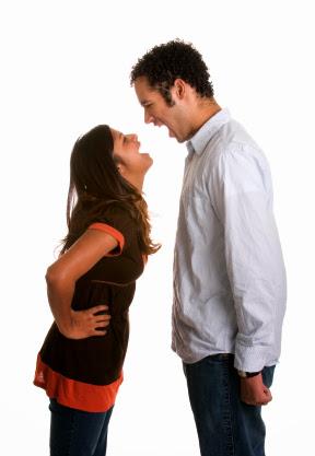 Suami isteri bergaduh kesuburan