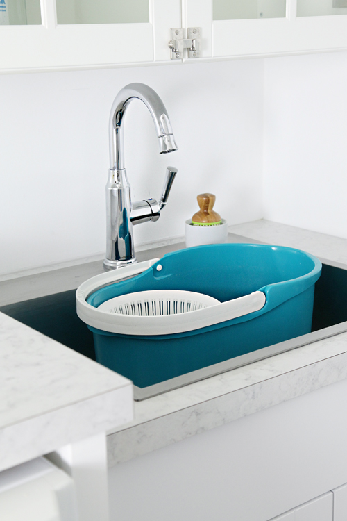 Drop In Laundry Room Sink : ... parts of the sink; a large mop bucket fits inside with room to spare