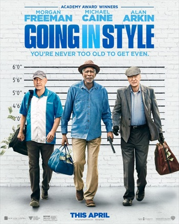 Going in Style 2017 English 720p WEB-DL 750MB