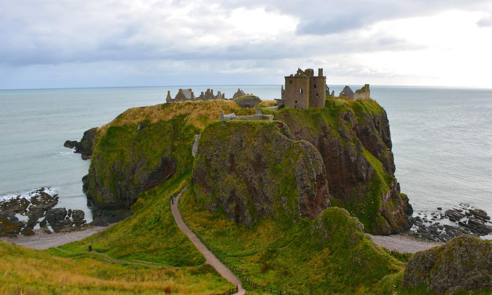 Dunnottar Castle in Scotland