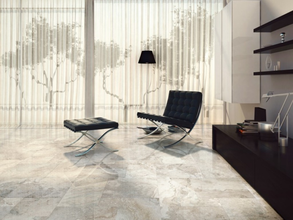 Designer tiles 4 designer living room Black tile flooring modern living room