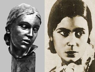 Portretas ir skulptūra Linos Po (1899–1948)