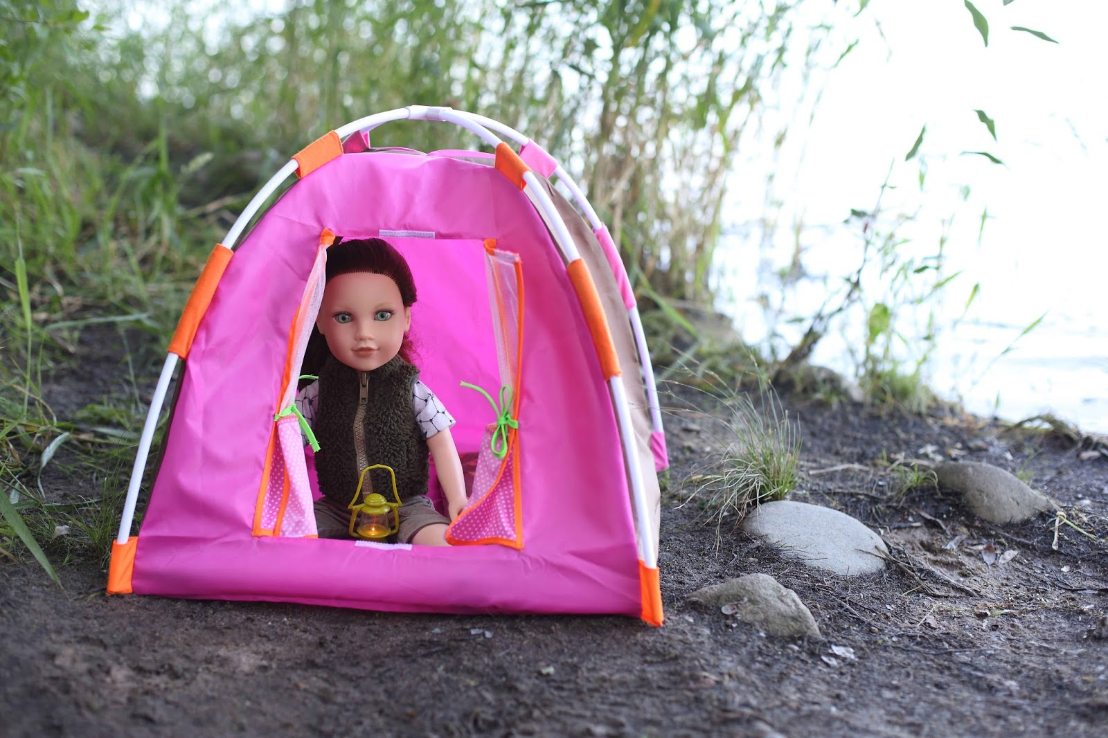 My Journey Girls Dolls Adventures Kelsey Goes Camping