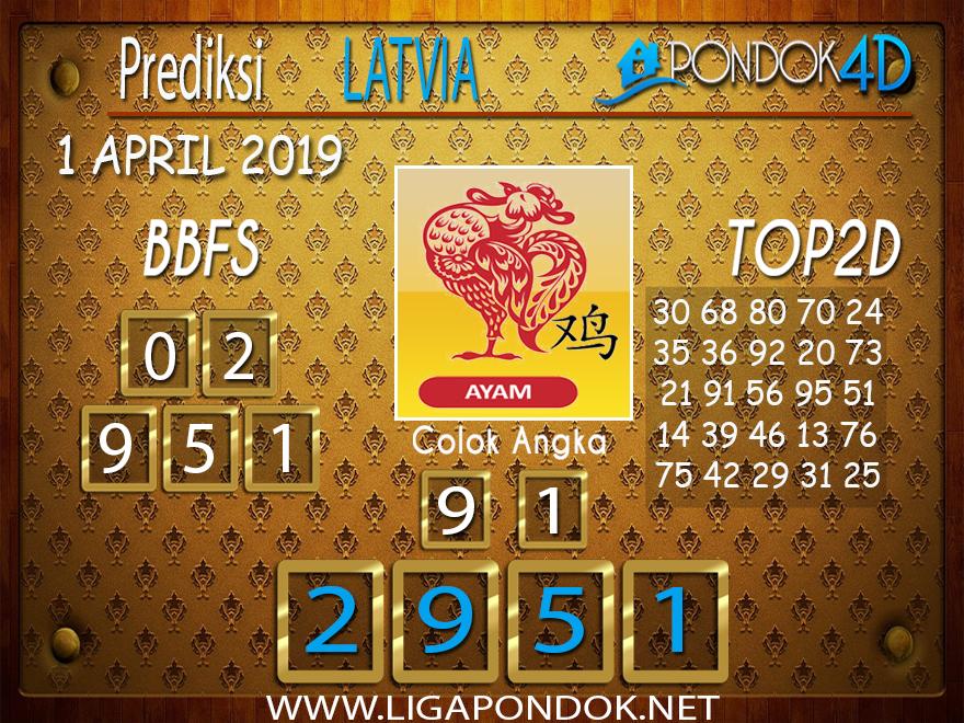 Prediksi Togel LATVIA PONDOK4D 1 APRIL 2019
