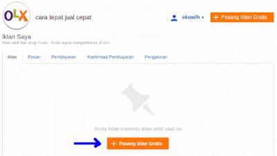 Cara Pasang Iklan di OLX.co.id 2015 - Step 3