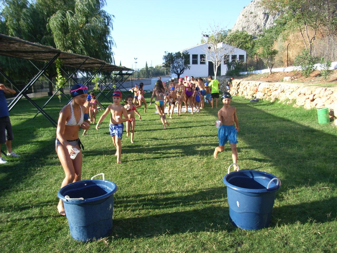 Area De Deportes Del Ayuntamiento De Archidona Gymkhana Acuatica Y