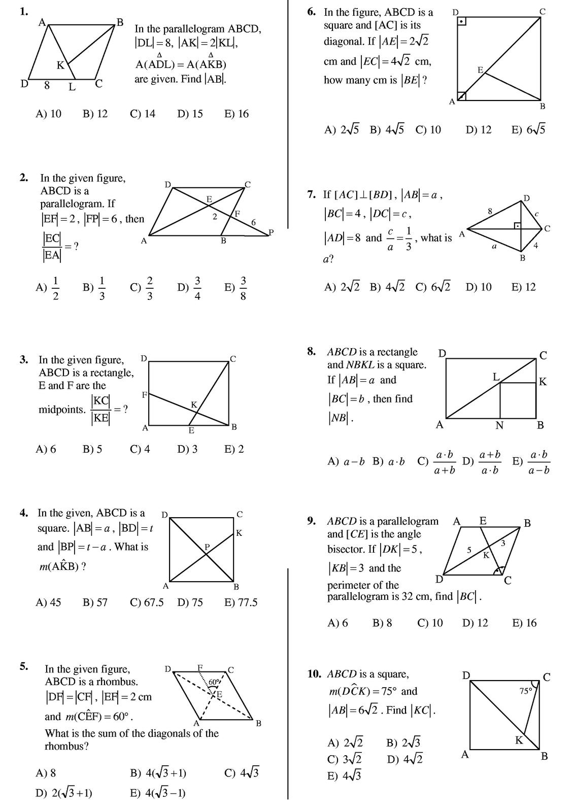 Mathsmib February