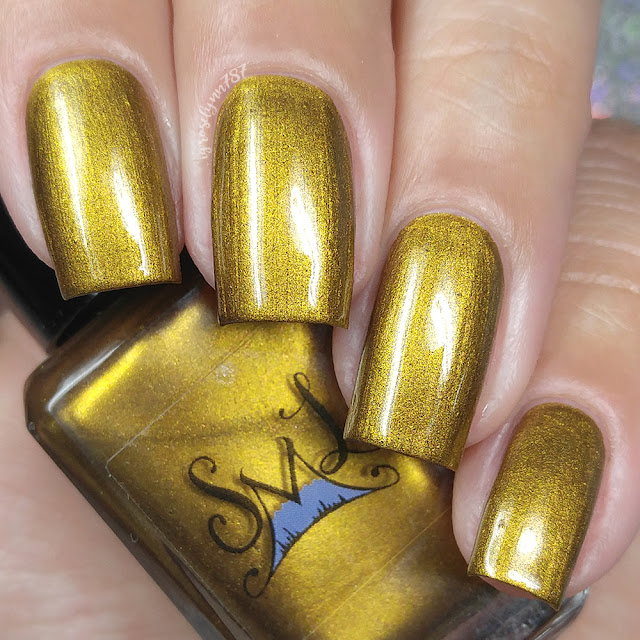 Smokey Mountain Lacquers - Golden Chocolate