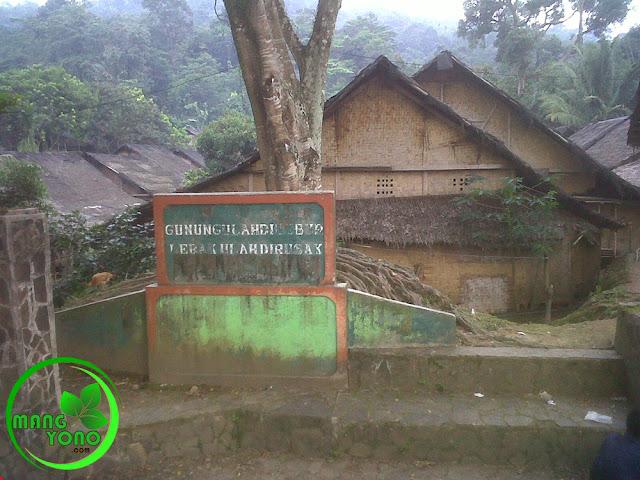 Baduy Banten ... Gunung ulah dilebur, Lebak ulah dirusak