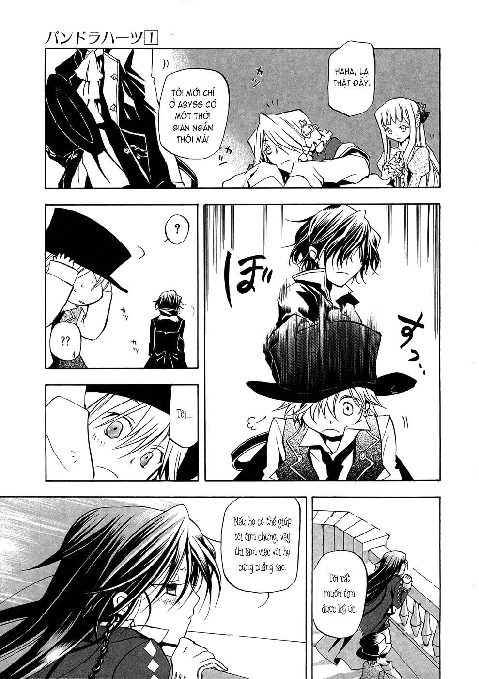 Pandora Hearts chương 004 - retrace: iv rendezvous trang 41