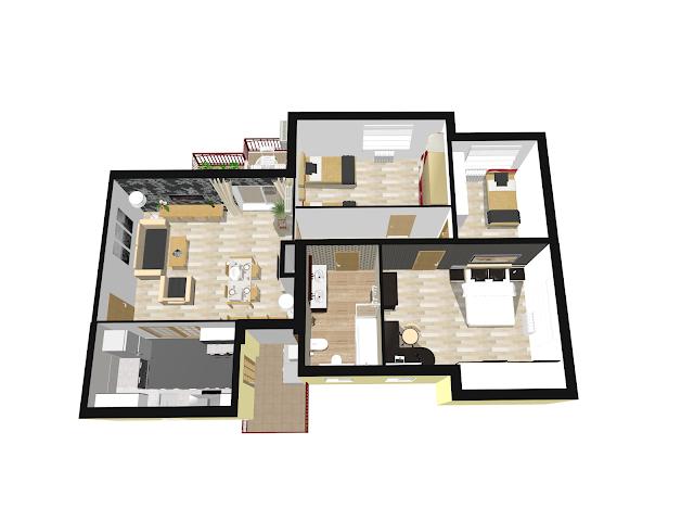 reforma virtual piso venta montgat viviencad