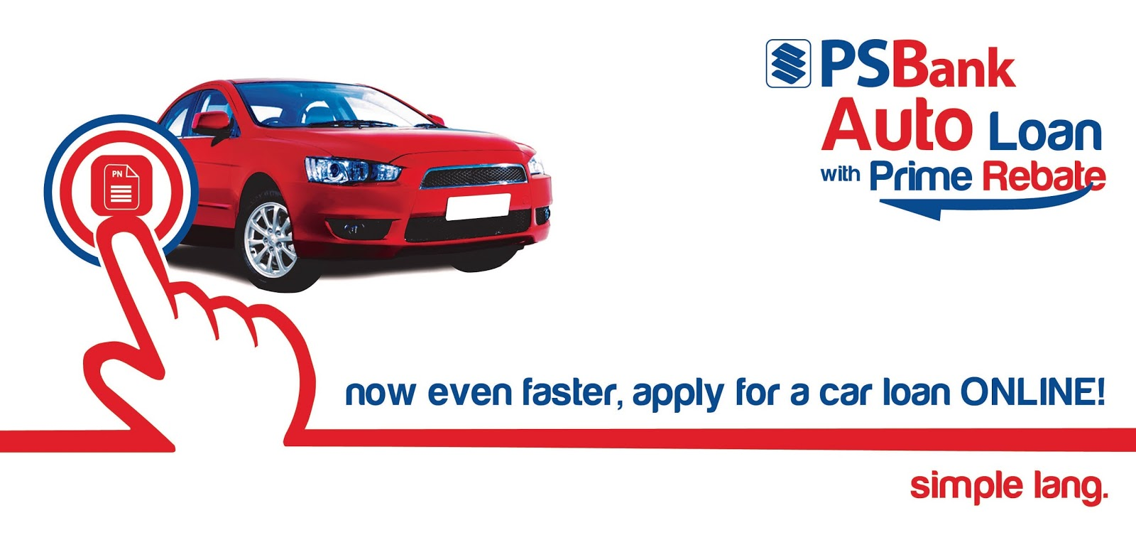 PSBank Auto Loan online