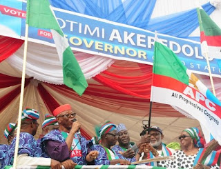 Again, Tinubu, 3 APC Governors Shun Akeredolu's Ondo Rally