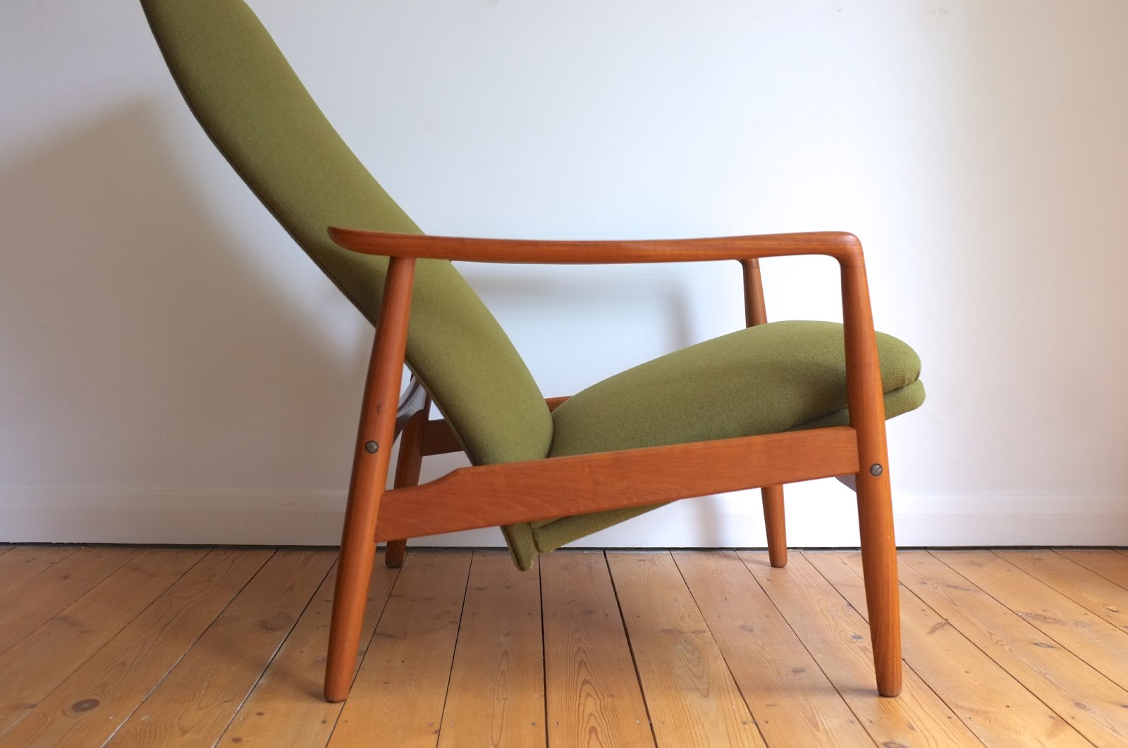 Antikmodern The Shop Danish Easy Chair And Footstool