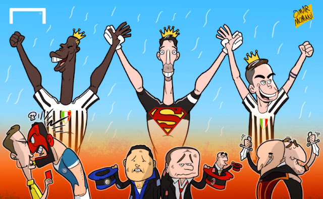 Juventus the Champions cartoon