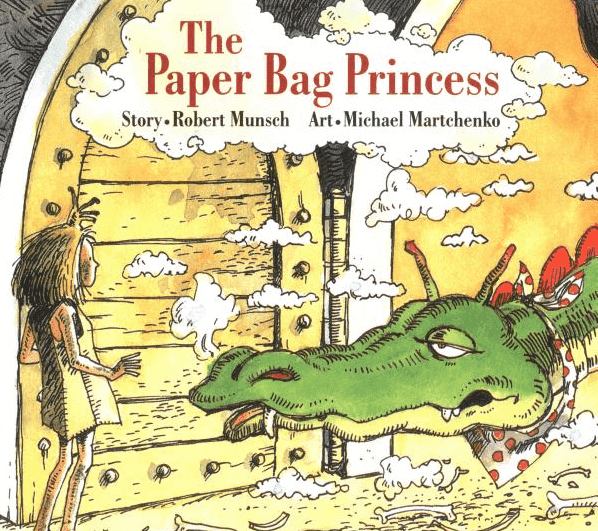"I have a TON of Robert Munsch's books, but I would have to say that The Paper Bag Princess is my all-time, hands-down favourite. This is the ultimate ""girl power"" picture book. This book review also includes some follow-up activities you don't want to miss! #paperbagprincess #robertmunsch #booksforkids #gradeonederful"