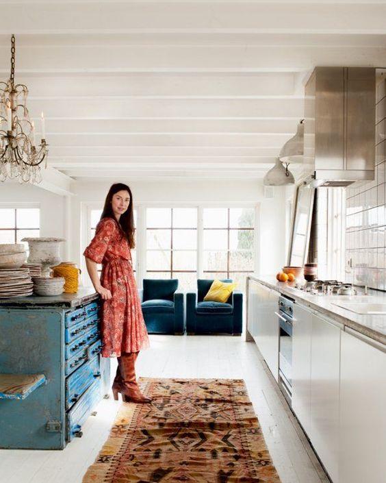Casa tr s chic tapete na cozinha - Casa tres chic blog ...