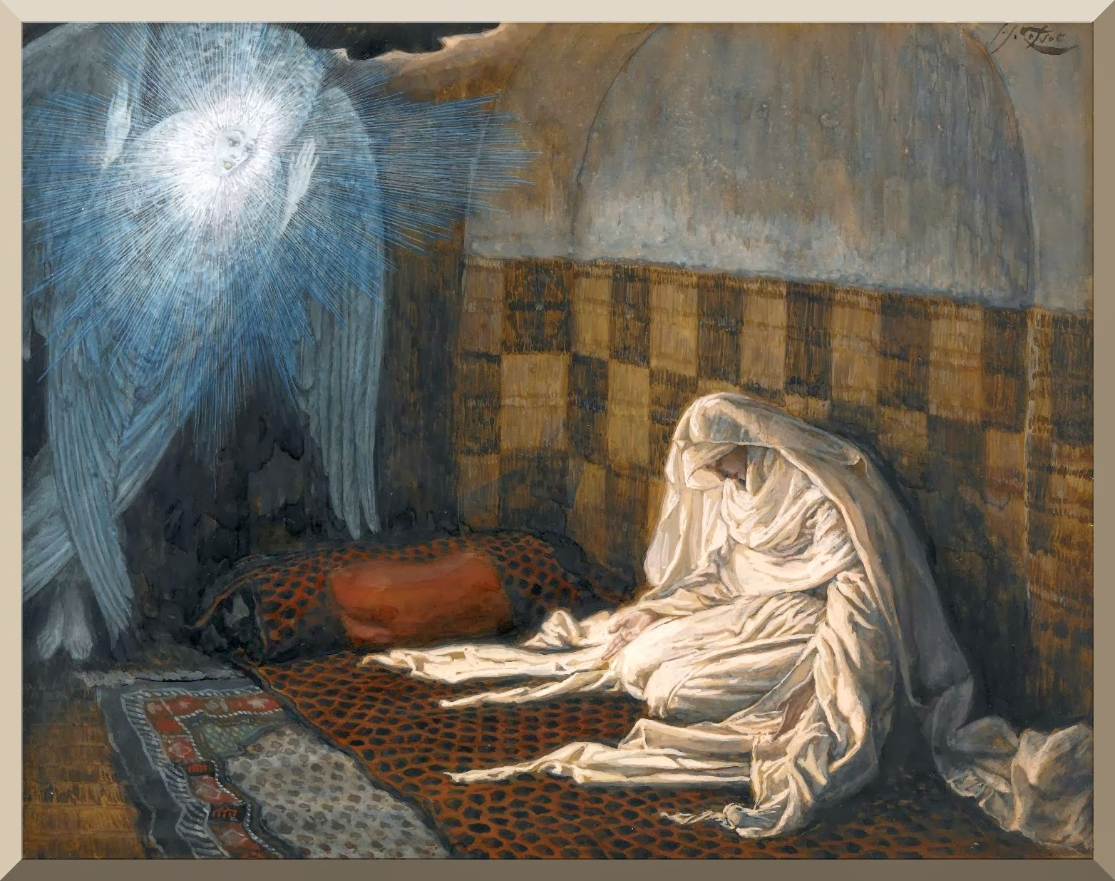 """The Annunciation"" -- by James Tissot.jpg"