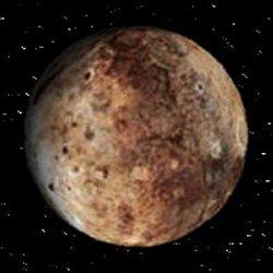 Imagen del planeta solar en el universo