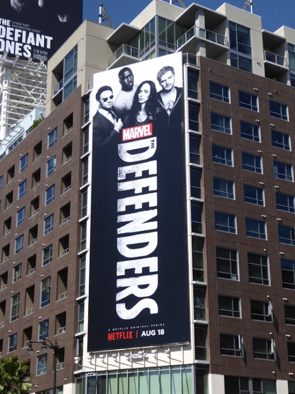 Defenders Netflix series billboard