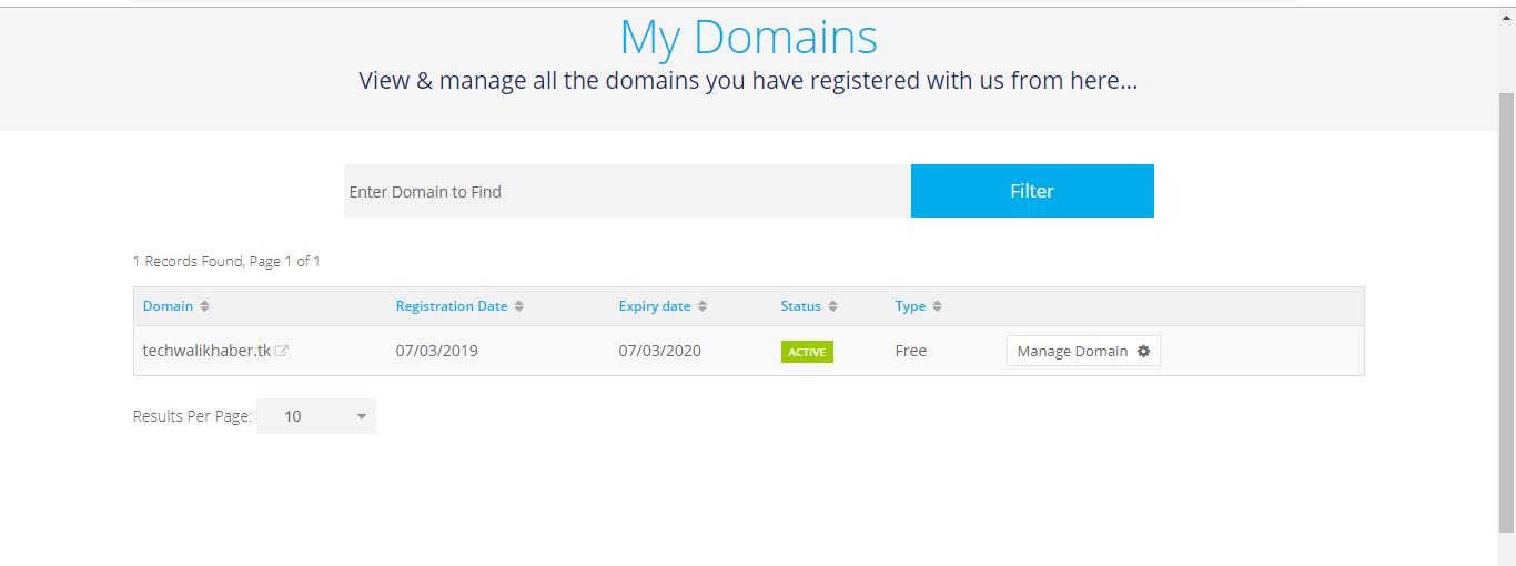 Blogger ke liye freenom se 5 free domain name kaise kharide in 2019