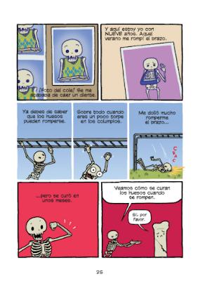El teatro del cuerpo humano de Maris Wicks - edita Norma comic