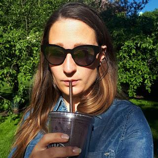 Rosa ja kahvismoothie