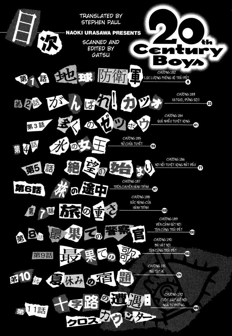 20th Century Boys chapter 182 trang 15