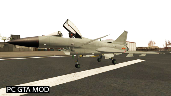 Free Download McDonnell Douglas F-4E Phantom v2 Mod for GTA San Andreas.