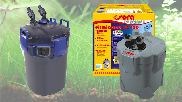 filtro canister o canasta para peces