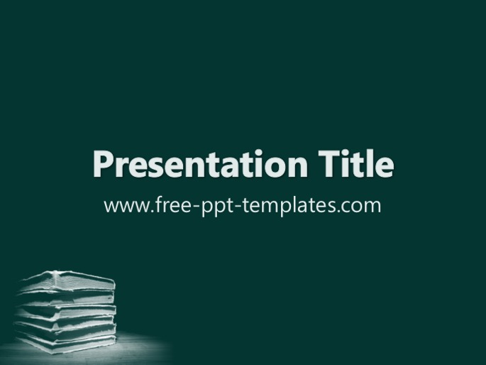 Literature ppt template toneelgroepblik Image collections