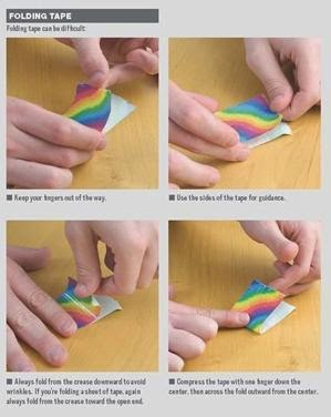 duct tape 101 Adventurous Ideas for Art, Jewelry, Flowers, Wallets and More  skills example