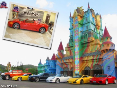 Super carros no Beto Carrero World