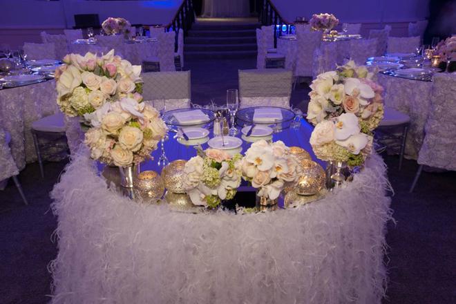 Down The Aisle Head Table Or Sweetheart Table: Sweetheart Table Ideas