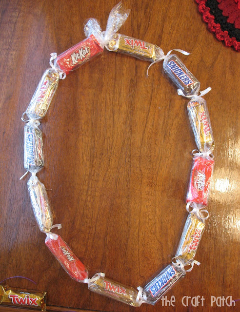 candy bar lei for graduation present