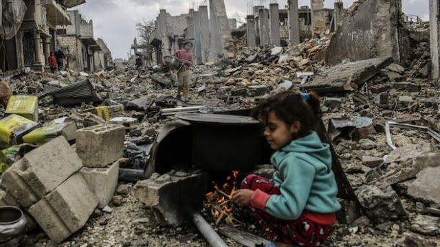 ape yang berlaku di Allepo,Syria?