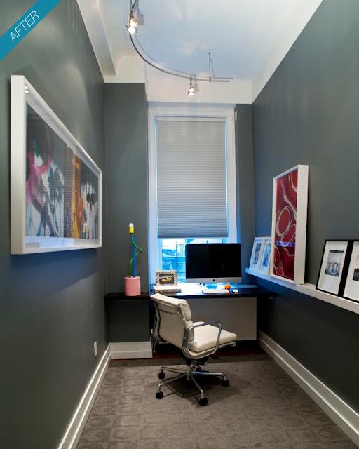 decoração de home office pequeno, decoração de pequenos espaços