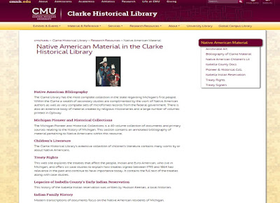 Clarke Historical Library, Central Michigan University.