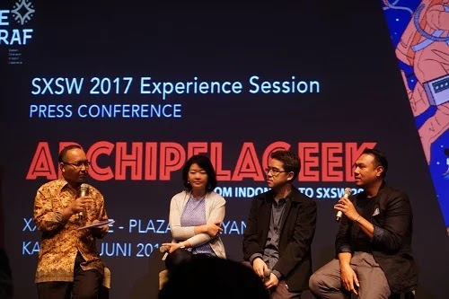 Archipelageek dari Indonesia ke SXSW 2017
