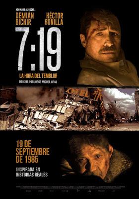 7:19, la hora del temblor en Español Latino